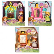 Disney Sofia The First 3 inch Mini Playset Assortment