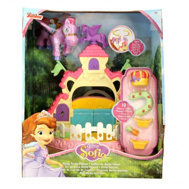 Disney Sofia The First 3 inch Minimus With Stable Playset