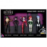 The New Batman Adventures Bad Girls 5 Piece Bendable Boxed Set