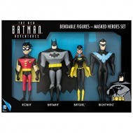 The New Batman Adventures Masked Heroes Bendable Figure