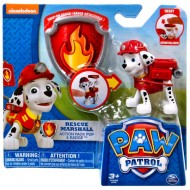 Paw Patrol Action Pack & Badge Marshall Figure
