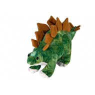 "Wild Republic Dinosauria Mini Stegosaurus 10"""
