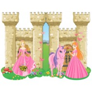 Themez Only Princess Party Invitation Cards Pack of 8