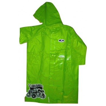 Zeel HotWheels Raincoat Green Size 27""