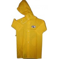 Zeel Kids Raincoat Yellow Size 27""