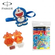 Luxor Grippy with Kids Toys and Sharpner Rakhi
