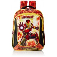 Iron Man Red and Black School Bag - 14 Inch
