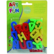 Simba Art & Fun Magnetic Capital Letters