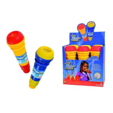 Simba My Music World Echo Microphone - Assorted Colours