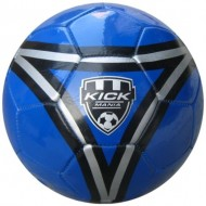 Speed Up Kick Mania Leatherite Football Size 5 Blue