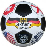 Speed Up Multi Flag Kick Off Leatherite Football Size 5
