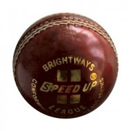 Speed Up League Red Cricket Leather Ball