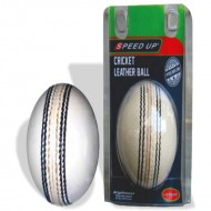 Speed Up League White Cricket Leather Ball