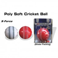Speed Up X Force Poly Soft Stitched Cricket Ball