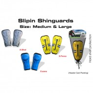 Speed Up X Shot Shin Guards Slip In Large