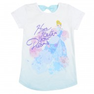 Disney Princess Ivory Round Neck T-Shirt DR1EGT250