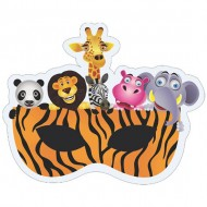 Themez Only Jungle Paper Eye Mask 10 Piece Pack