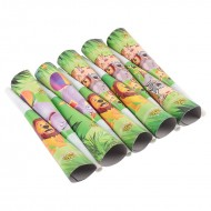 Themez Only Jungle Paper Horns 8 Piece Pack