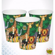 Themez Only Jungle Paper Cup 10 Piece Pack