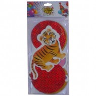 Themez Only Jungle Paper Dangling Swirls 3 Piece Pack