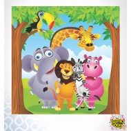 Themez Only Jungle Paper Napkins 20 Piece Pack