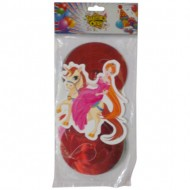 Themez Only Princess Paper Dangling Swirls 3 Piece Pack