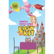 Themez Only Princess Rubber Play Balloon Ceiling Easy Kit 36 Piece Pack