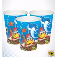 Themez Only Underwater Paper Cup 10 Piece Pack