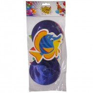 Themez Only Underwater Paper Dangling Swirls 3 Piece Pack