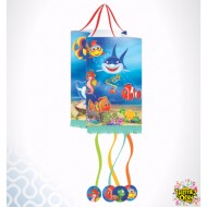Themez Only Underwater Paper Pinata Khoi Bag 1 Piece Pack