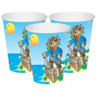 Themez Only Pirate Paper Cup 10 Piece Pack