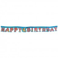 Themez Only Pirate Paper H B Letter Banner 1 Piece Pack