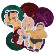 Themez Only Chhota Bheem Paper Dangling Swrils 3 Piece Pack