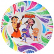 Themez Only Chhota Bheem Paper 7 Plate 10 Piece Pack