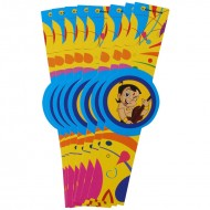 Themez Only Chhota Bheem Paper Wrist Band 10 Piece Pack