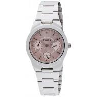 Timex E-Class Analog Pink Dial Girl's Watch - J100