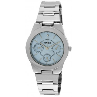 Timex E-Class Analog Blue Dial Girl's Watch - J102