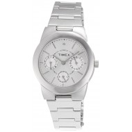Timex E-Class Analog Silver Dial Girl's Watch - J103