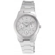 Timex E-Class Analog Silver Dial Girl's Watch - J103
