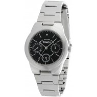 Timex E-Class Analog Black Dial Girl's Watch - J104