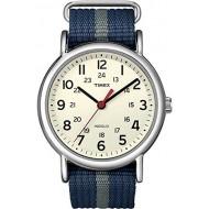 Timex Weekender Indiglo Analog Beige Dial Unisex Watch -T2N654