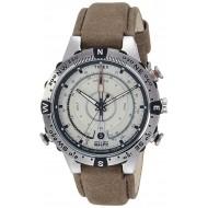 Timex Intelligent Quartz Compass Chronograph Off-White Dial Boy's Watch - T2N721