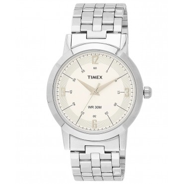 Timex Classics Analog White Dial Boy's Watch - TI000T10500