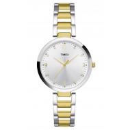 Timex Fashion Analog Silver Dial Girl's Watch - TW000X200