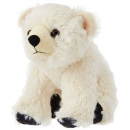 Wild Republic Cuddlekins Polar Bear Baby White 12 Inch
