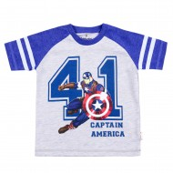 Avengers Grey Blue T-Shirt AV1EBT171