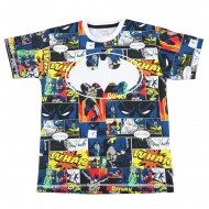 Batman Multi Colour T-Shirt BM1EBT189