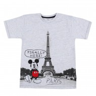 Mickey & Friends Grey T-Shirt MF1EBT857
