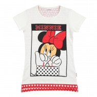 Mickey & Friends Off White T-Shirt MF1EGT434