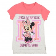 Mickey & Friends Pink Off White T-Shirt MF1EGT436